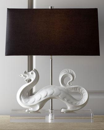 White Dragon Lamp