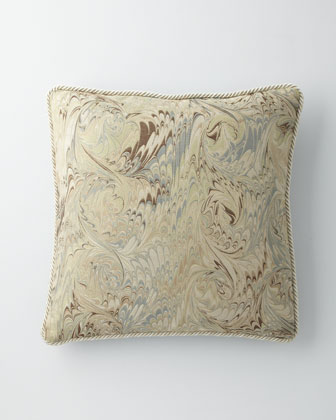 Marbleized Pillow, 22