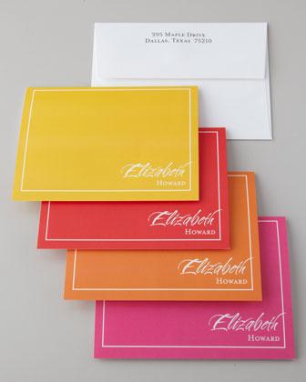 16 Flashy Folded Notes & Envelopes