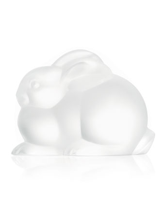 Resting Rabbit Sculpture