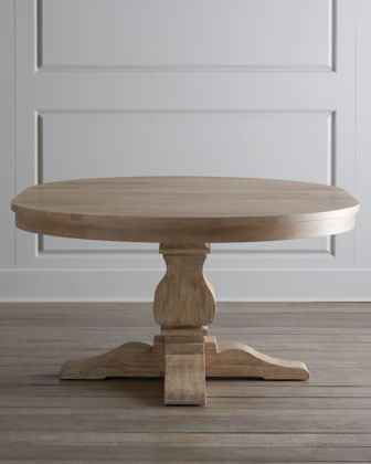 Taylor Pedestal Table & Kalli Dining Chair