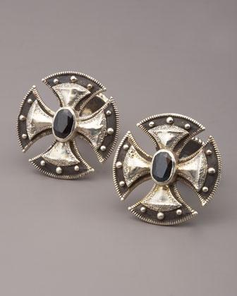 sterling silver cross cufflinks. Black Bedroom Furniture Sets. Home Design Ideas