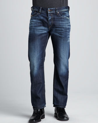 Waykee Whiskered Jeans, 32