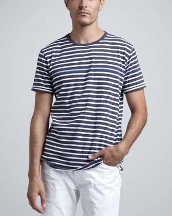 Thin-Stripe Tee