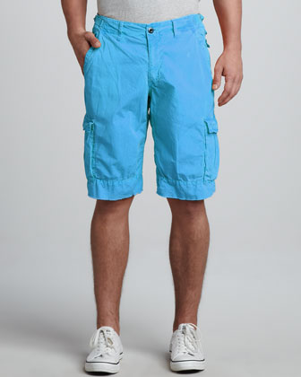Oxnard Cargo Shorts, Blue Jay