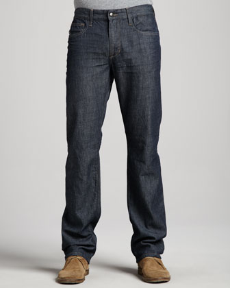 Brixton Slim Dark Blue Jeans