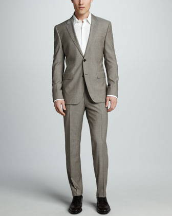 Sharkskin Suit, Tan