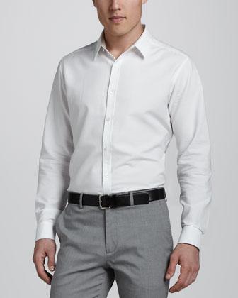 Zack Sport Shirt, White