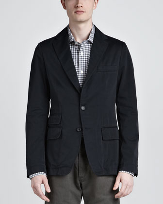 Lewis Unstructured Sport Coat