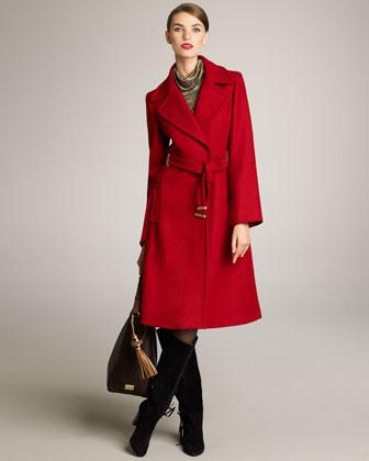 Mikhaila Bell-Sleeve Coat