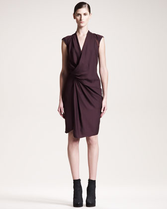 Molten Draped Dress