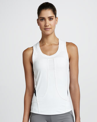 Performance Running Tank, White