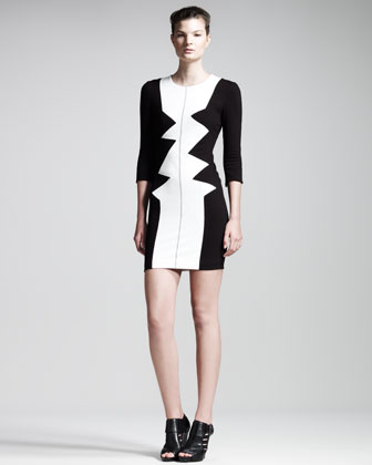 Dezza Colorblock Dress