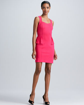 Sleeveless Dress with Cutout Back