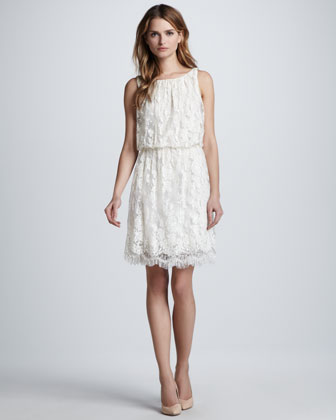 Denise Sleeveless Lace Dress