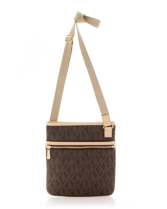 Large Crossbody Bag, Brown