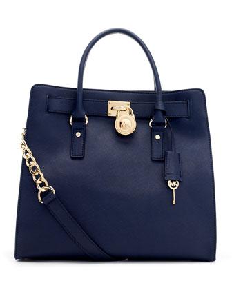 Large Hamilton Saffiano Tote Bag