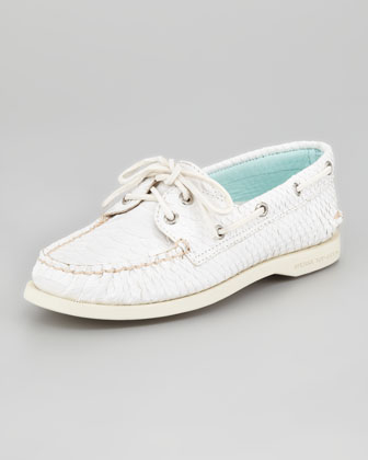 Original Python-Print Slip-On, Ivory