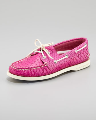 Original Python-Print Slip-On, Pink