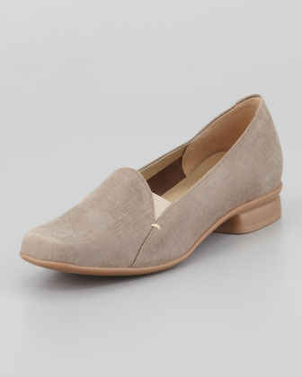 Ellen Coated Suede Loafer