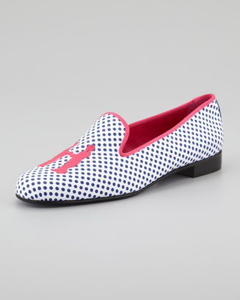 Audrey Polka-Dot Smoking Loafer
