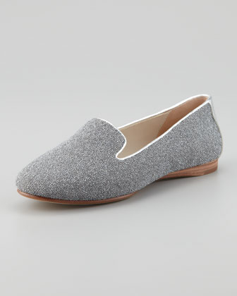 Denda Sparkle Loafer, Silver