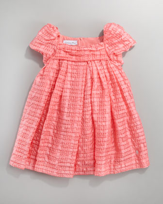 Plisse Organza Dress, Sizes 2-4