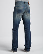 Bobby Straight-Leg Jeans, Deadwood
